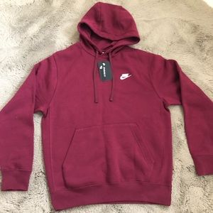 Authentic red Nike hoodie